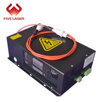 80w CO2 laser tube used laser power supply Hongyuan HY T80
