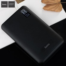 Banco de la Energía 30000 mAh 3USB HOCO Apoyo Externo Portátil Mobile Cargador de Batería Li-Polímero Pantalla LCD poverbank para todos teléfonos