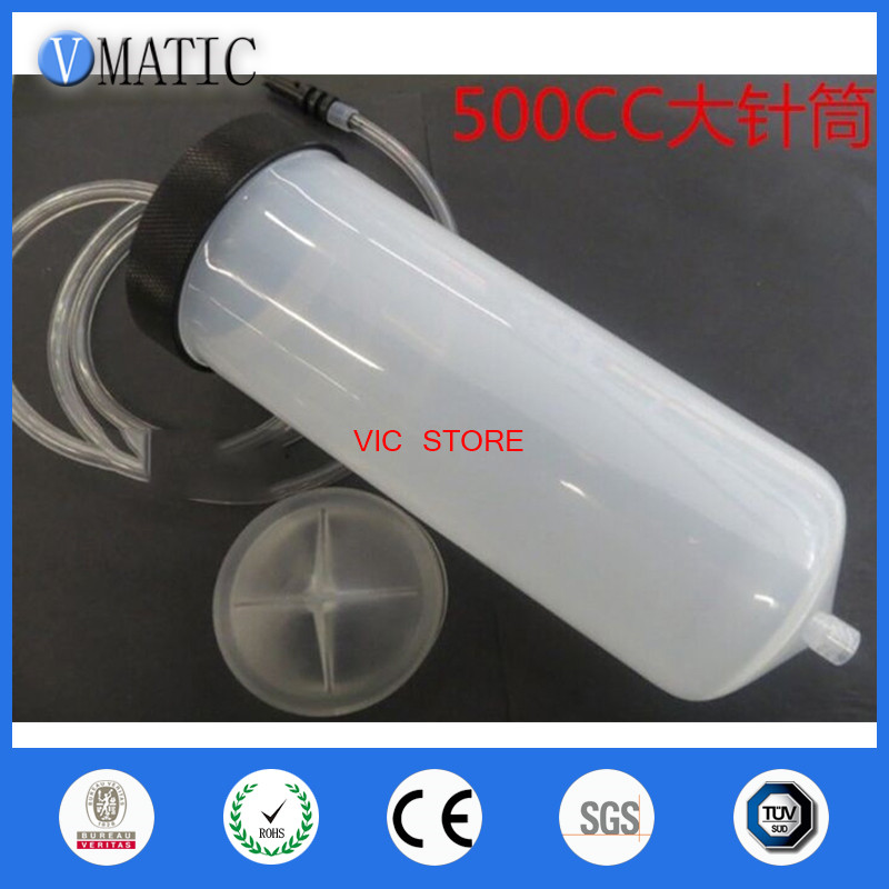 Sale Quality 500CC Luer Lock Tip Dispenser Syringe Barrel With Adapter SET