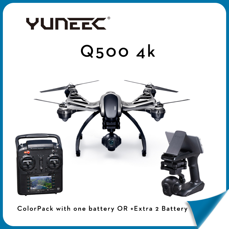 In Stock Yuneec Q500 M Drone for Sale With Extra Battery +Steady Grip Handheld Gimbal with 4K Camera