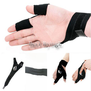 Image 5 - Y1G 1pcs Right hand  Lighting glove Night car repair glove led light Night fishing lamp glove