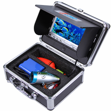 30Meters Deepth of  Super Mini 700TVL Underwater Camera & 3.5″ Digital LCD Monitor Kit with DVR Function & Anti-sunshine Cover