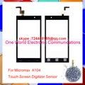 Оригинал Качество Для Micromax A104 Canvas Fire 2 Смартфон С Сенсорным Экраном Digitizer Сенсорная Стеклянная Панель Бесплатная Доставка
