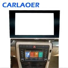 Araba 2 DIN Fasya Paneli Plaka Çerçeve AUDI A4 (B6) A4 (B7) SEAT Exeo stereo ön panel Trim Kurulum çerçeve kiti