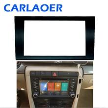 Auto 2 DIN Fascia Panel Platte Rahmen Für AUDI A4 (B6) A4 (B7) SEAT Exeo Stereo Fascia Dash Trim Installation Rahmen Kit