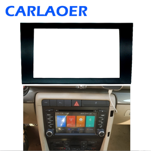 Image 1 - Auto 2 DIN Fascia Panel Platte Rahmen Für AUDI A4 (B6) A4 (B7) SEAT Exeo Stereo Fascia Dash Trim Installation Rahmen Kit