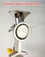 Coffee Bean Grinding Machine Manual Stainless Steel Sesame Mill Grinder DIY for Powder Peanut Soybean Walnut