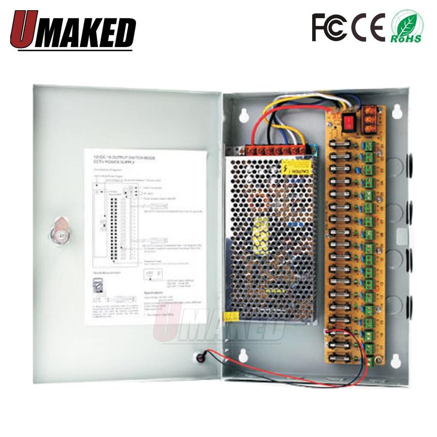 36-360W CCTV power supply box DC12V AC110/220V monitor power supply / switch power supply цена