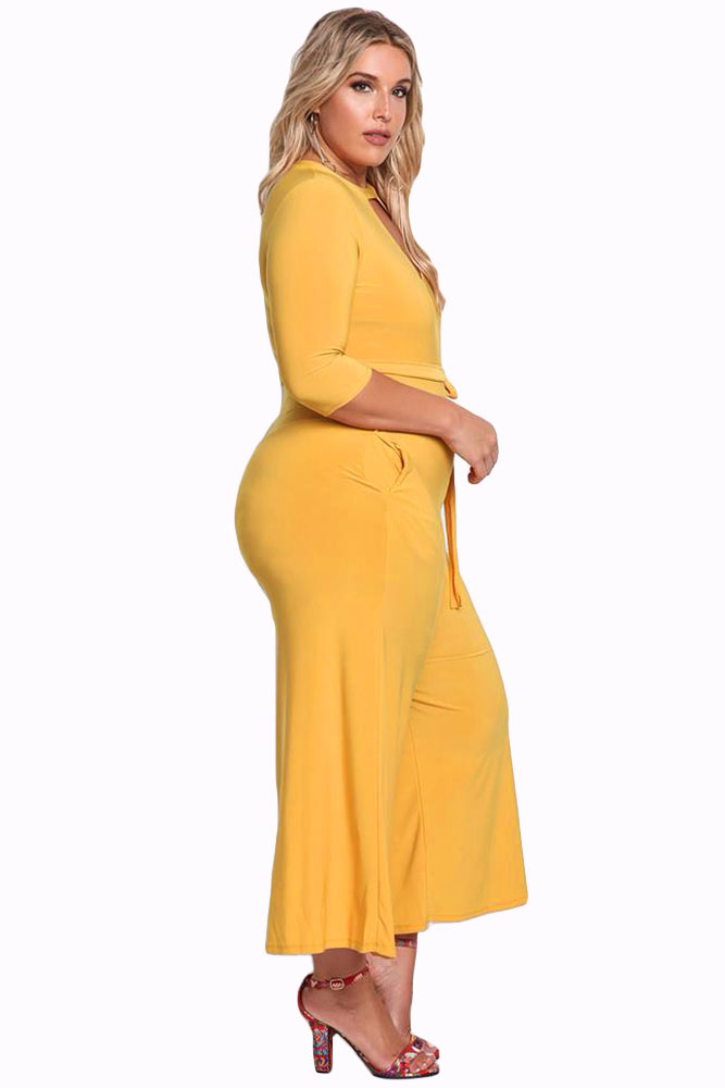 Mustard-Plus-Size-Cut-Out-Wide-Legged-Jumpsuit-LC64344-7-3