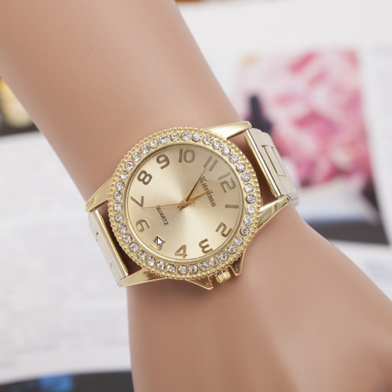 Relogios Feminino Women Fashion brand Watch Luxury Crystal Quartz Watches Women Casual Stainless Steel Wristwatch Hot Sale Clock new luxury brand dqg crystal rosy gold casual quartz watch women stainless steel dress watches relogio feminino clock hot sale