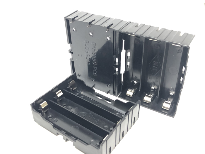 50pcs lot MasterFire Battery Case Holder For 3 x 18650 3 7V Rechargeable Batteries 1pcs DIY