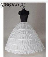 In stock Ball gown 6 hoops petticoat Underskirt 6 hoops Wedding Accessories hoop skirt