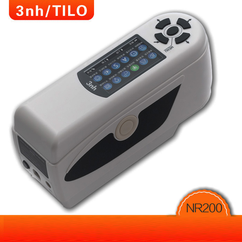 NR200 precision Digital Colorimeter ,Coating Industry Color Analysis Instruments Portable Color Difference Meter