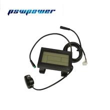 Kt-lcd3 KT LCD3 ebike 24V 36V 48V inteligentny czarny Panel sterowania wyświetlacz LCD elektryczne części rowerowe do kontrolera kt tanie tanio pswpower