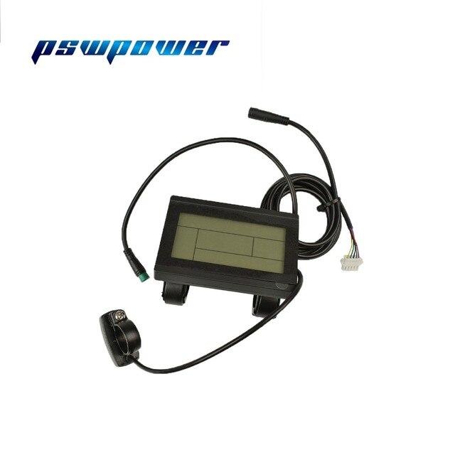 Kt lcd3 KT LCD3 ebike 24V 36V 48V inteligentny czarny Panel sterowania wyświetlacz LCD elektryczne części rowerowe do kontrolera kt