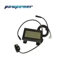 كيلوطن LCD3 كيلوطن lcd3 ebike 24 فولت 36 فولت 48 فولت ذكي لوحة التحكم السوداء LCD عرض أجزاء الدراجة الكهربائية للدراجة وحدة تحكم KT