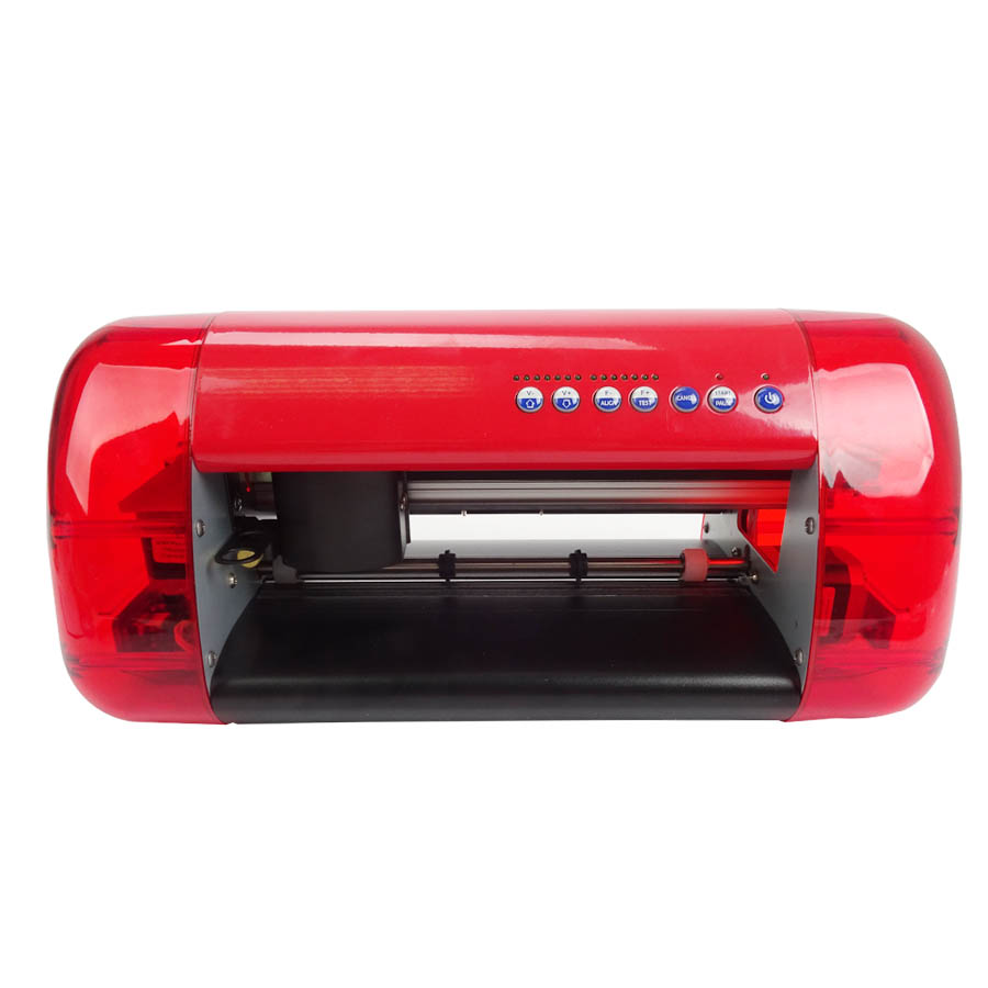 1pc DC330 A3 Mini Vinyl Cutter and Plotter with Contour Cut Function Vinyl Cutting Plotter original for teneth cutting plotter sai flexistarter contour cutting plotter flexi starter software could version