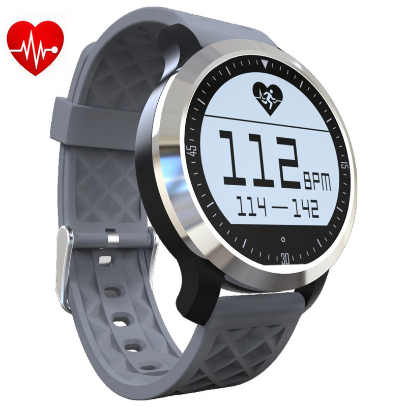 ФОТО Waterproof F69 Sports Smart Watch IP68 Fitness Tracker Bracelet Heart Rate Monitor Swimming Wristband for IOS Android Phone