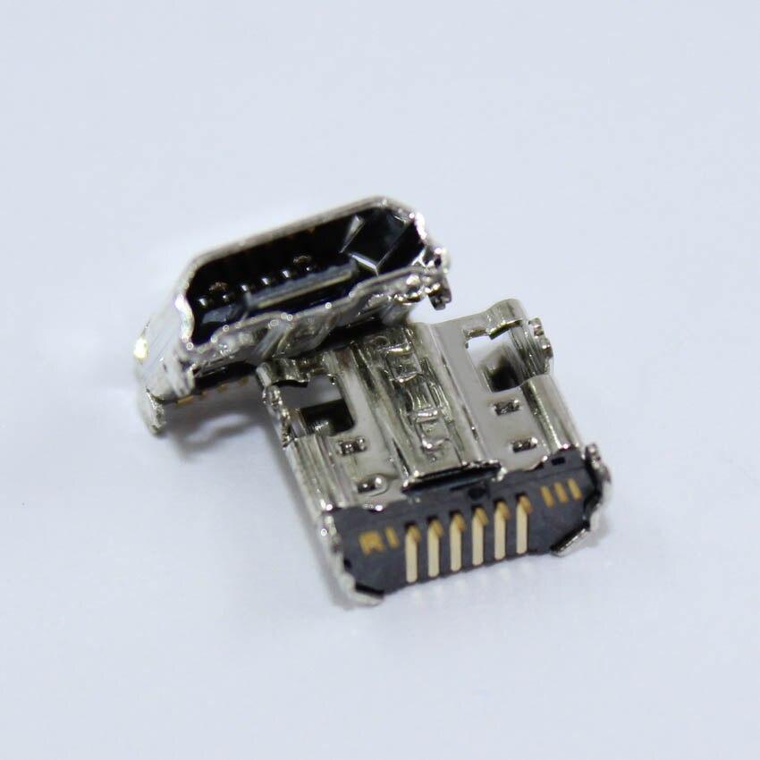 Юйси 5 шт./лот Micro <font><b>USB</b></font> Порты и разъёмы Зарядное устройство разъем зарядки Порты и разъёмы для Samsung Galaxy Tab <font><b>3</b></font> 7.0 T210 T211 разъем