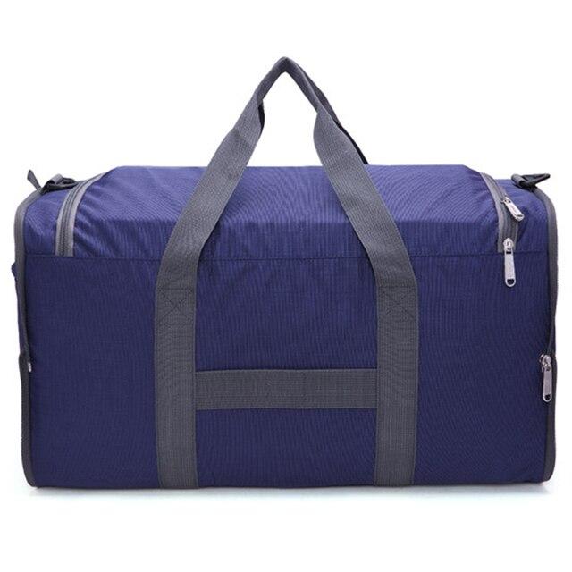 af599f00f724 Aresland складной мужские дорожные сумки большие Ёмкость нейлон  Повседневное Женщины Мужчины складные сумки дорожные сумки Сумка