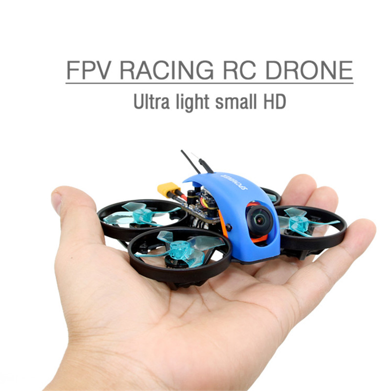 1PC SPCMAKER Mini Whale FPV Racing RC Drone Ultra Light Small 78MM 1080P HD Card Recording HD 2-S RunCam ROBIN Camera Soaring1PC SPCMAKER Mini Whale FPV Racing RC Drone Ultra Light Small 78MM 1080P HD Card Recording HD 2-S RunCam ROBIN Camera Soaring