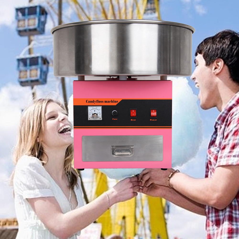 (Ship from Germany) 220V 1300W Electric Commercial Cotton Candy Floss Maker Machine Great for Celebrating Xmas Halloween Party cartoon anime league legends wallets creative gift purse students boy girls leather bags men women fashion casual short wallet