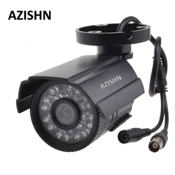AZISHN CCTV Camera 800TVL/1000TV  IR Cut Filter 24 Hour Day/Night Vision Video Outdoor Waterproof IR Bullet Surveillance Camera
