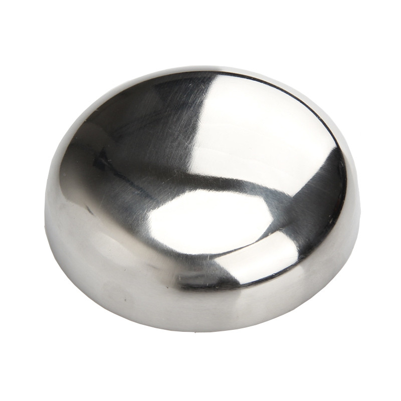 1Pcs 32MM 38MM 45MM 51MM 304SS Sanitary 304 Stainless Steel Welding Pipe End Cap Plug