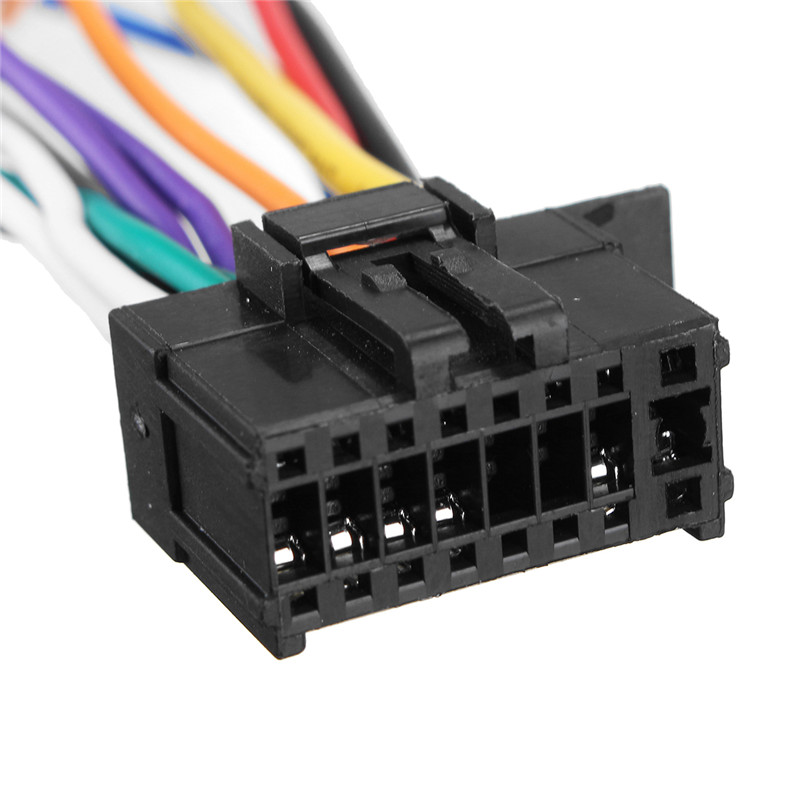 KROAK Car Stereo Radio Player ISO Wiring Harness Connector 16Pin For Pioneer 2003 on wiring harness pioneer gandul 45 77 79 119  at pacquiaovsvargaslive.co