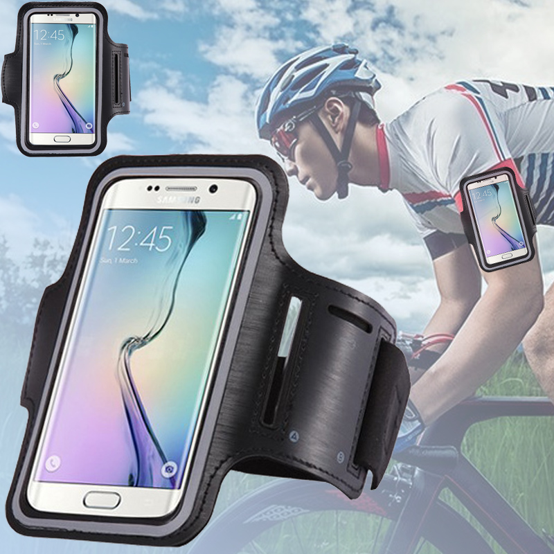 Mobile Phones Arm Bag Case For Samsung S7 Edge Galaxy s5 duos S6 Case Cover Water Proof Bag Outdoor Running Sport Cycling Cover