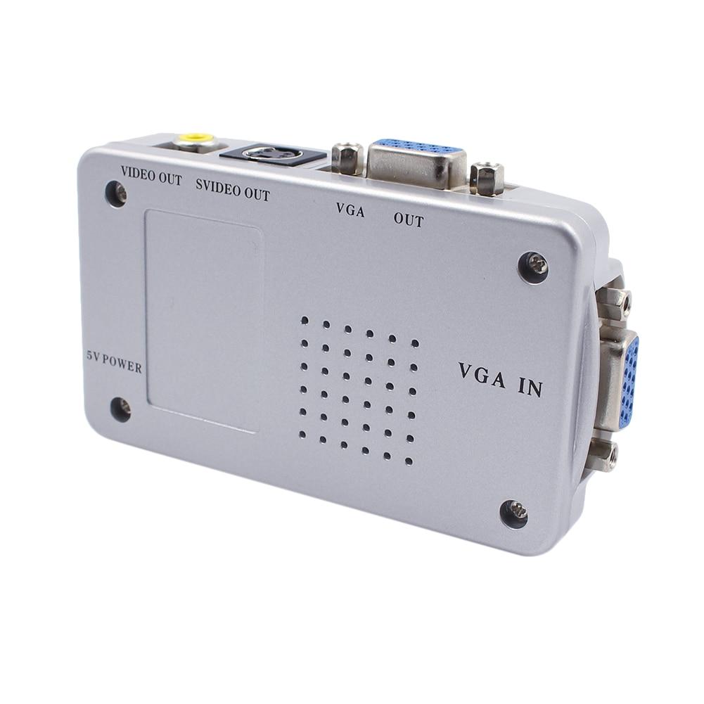 Universaalne adapter – NTSC PAL VGA-st TV AV RCA-ks