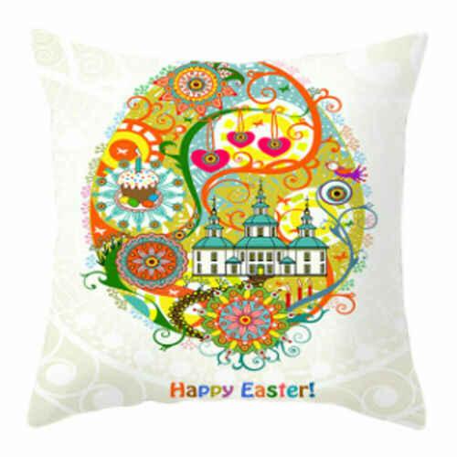 سعيد لطيف أرنب عيد الفصح مهرجان أرنب كيس وسادة شخصية السرير المنزل