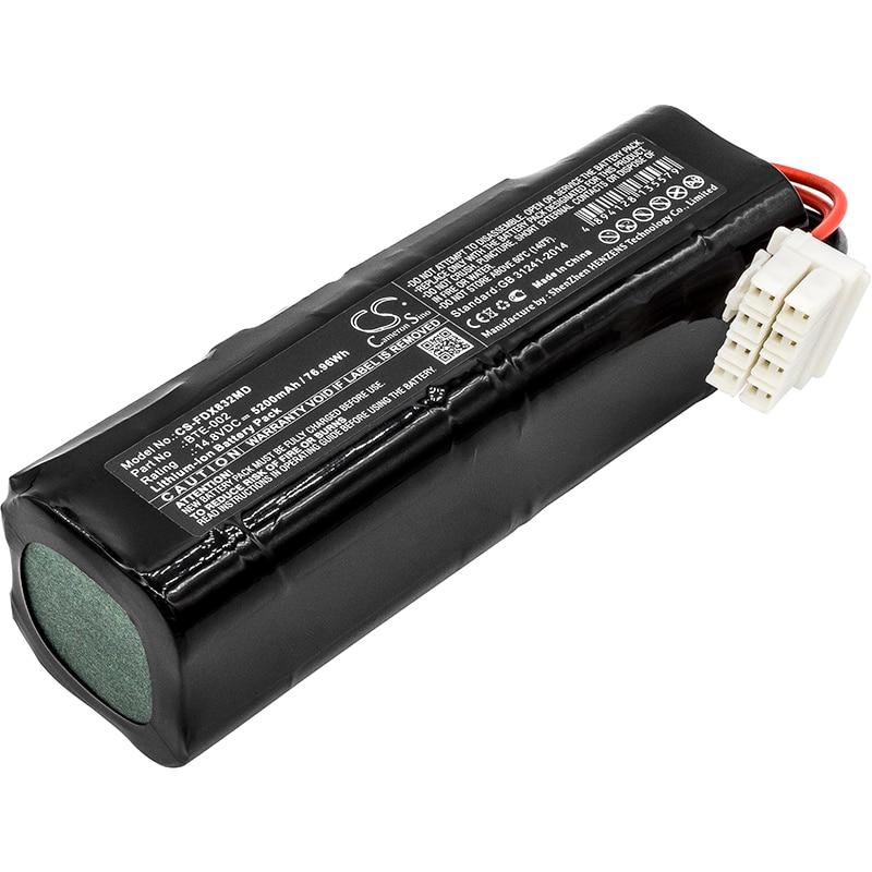 Cameron Sino Upgrade For Fukuda BTE-002 Medical Battery Li-ion 5200mAh / 76.96WhCameron Sino Upgrade For Fukuda BTE-002 Medical Battery Li-ion 5200mAh / 76.96Wh