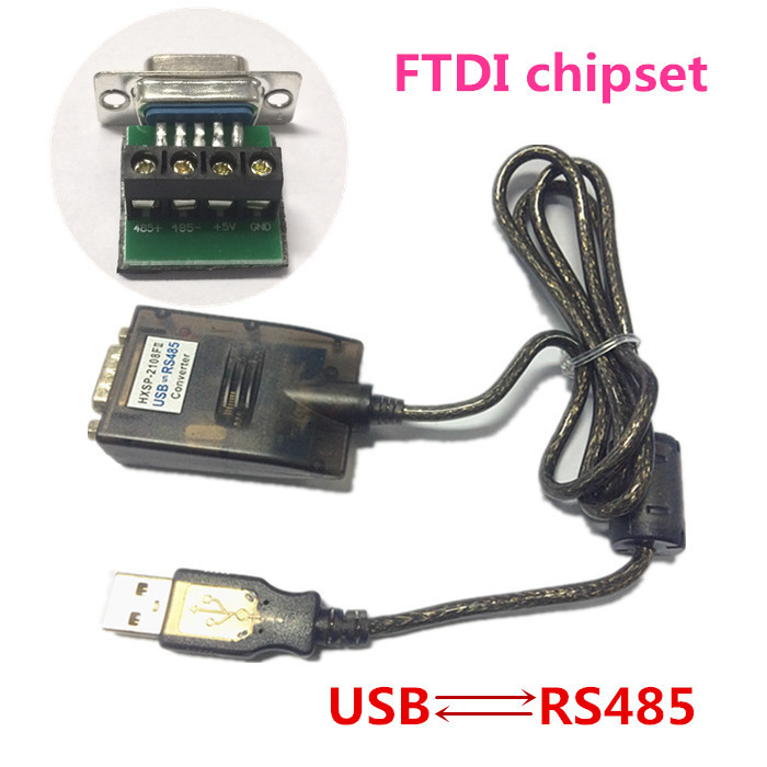 USB 2.0 to RS485 Serial DB9 Converter Cable FTDI FT232RL FT232BL Windows7 64 4 GPS Free Shipping half duplex ftdi ft232rl usb rs485 converter rs485 to usb converter for smart meter