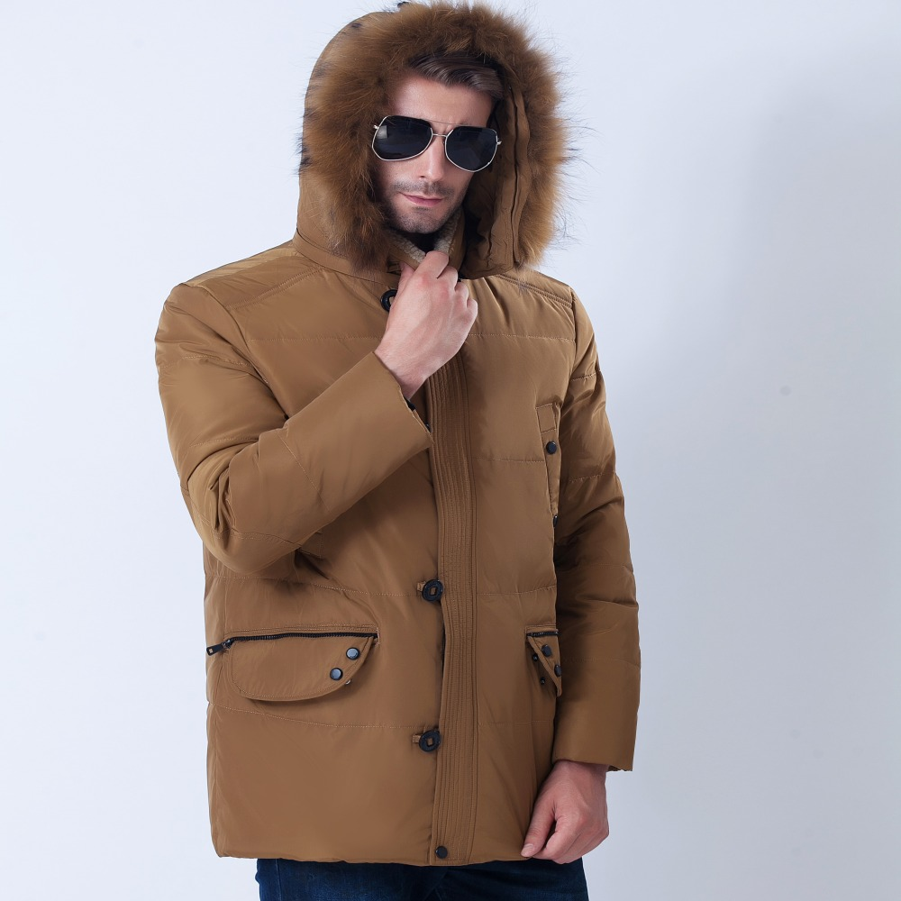 2016 Winter Jacket Men Famous Brand Clothing Jacket Fashion Thick Casual down Coat High Quality Regular Parka