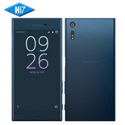 NEW Original Sony Xperia XZ F8332 Mobile Phone Octa Core 3GB RAM 64GB ROM Snapdragon 820 23MP WIFI 4G LTE Smartphone 2900mAh