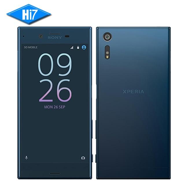 Новый оригинальный Sony Xperia XZ F8332 мобильного телефона Octa core 3 ГБ Оперативная память 64 ГБ Встроенная память Snapdragon 820 23mp WI-FI 4 г LTE смартфон 2900 мАч