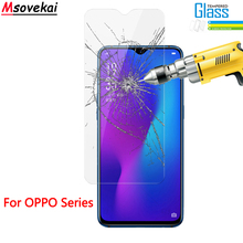 2.5D 9H Tempered Glass for OPPO F11 Pro A1K A5S A3s F5 youth A83 for OPPO F9 R17 R15 Pro Realme 3 2 Pro Screen Protector Film смартфон oppo a5s cph1909 black