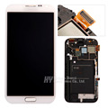 LCD Display Touch Screen Digitizer Assembly with Frame For Samsung Galaxy Note II Note 2 N7100 N7105 freeshipping