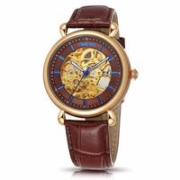 TIME100 - Mechanical Skeleton Watch - Hollow Out Self-wind