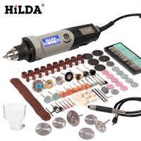 HILDA outil rotatif à vitesse Variable outils électriques 400 W Mini perceuse 6 positions pour Dremel outils rotatifs mini rectifieuse