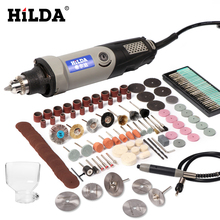 HILDA Drill Grinding-Machine Rotary-Tool Dremel Mini Variable-Speed 6-Position 400W