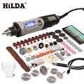 HILDA Variabile Velocità di Rotazione Utensile Utensili Elettrici 400W Mini Trapano 6 posizione per Dremel Rotary Strumenti di mini macchina per la frantumazione