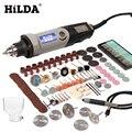 Herramienta giratoria de velocidad Variable HILDA herramientas eléctricas 400 W Mini taladro 6 posiciones para herramientas giratorias Dremel mini máquina de molienda
