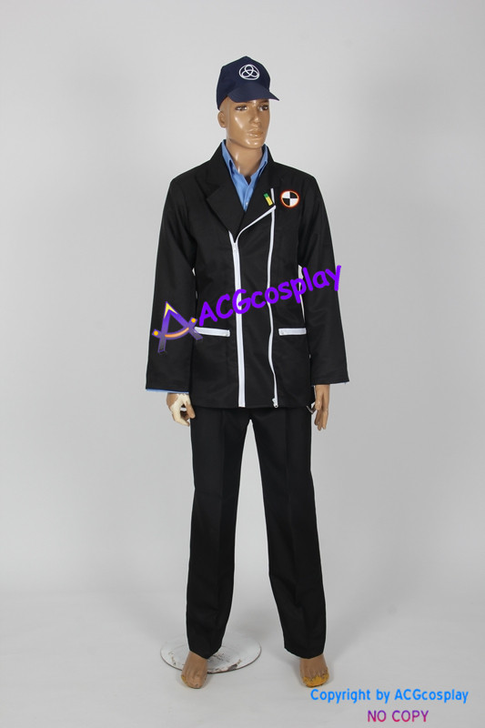 Persona 3 Junpei iori костюм для косплея включает в себя кепку и цепочку аксессуар ACGcosplay Аниме Костюм