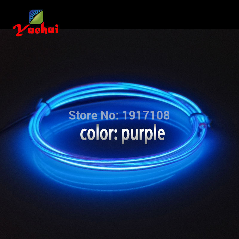 Home & Garden 10 Color Selected 1m 1.3mm With Model Party Decoration Led Thread Sticker Indoor Flexible Neon Light El Wire Rope Tube Event & Party