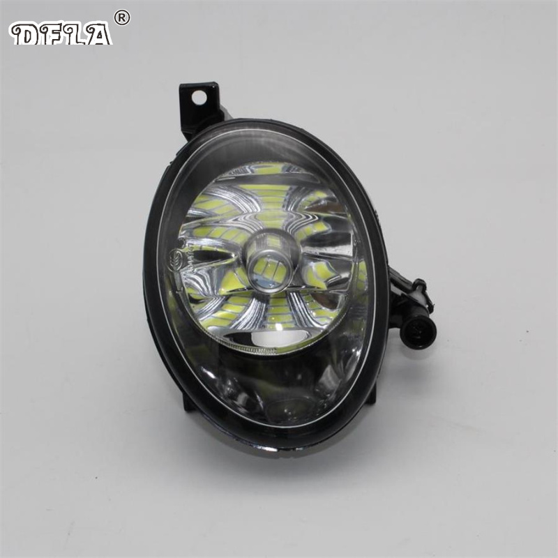 Car LED Light For VolksWagen VW Touran 2011 2012 2013 2014 2015 Car-Styling Front Left Bumper LED Fog Light Fog Lamp Driver Side стоимость