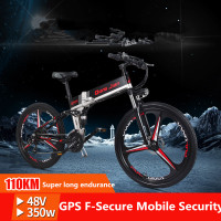 Folding Electric Mountain Biking Bicycle Lithium Battery Powered Mini Stealth Battery For Adult Step Car Battery
