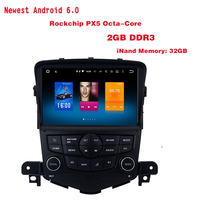 Android 6 0 Qcta Core Car GPS Radio Player For Chevrolet Cruze 2008 2011 With 1024