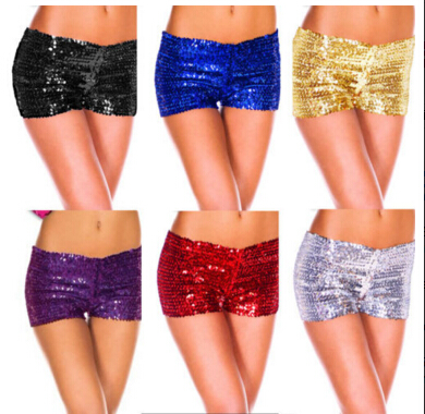 Online Buy Wholesale blue sequin shorts from China blue sequin ...